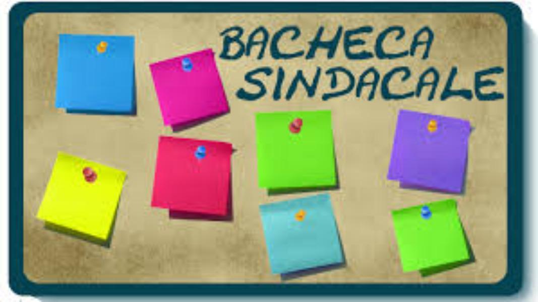 BACHECA SINCACALE